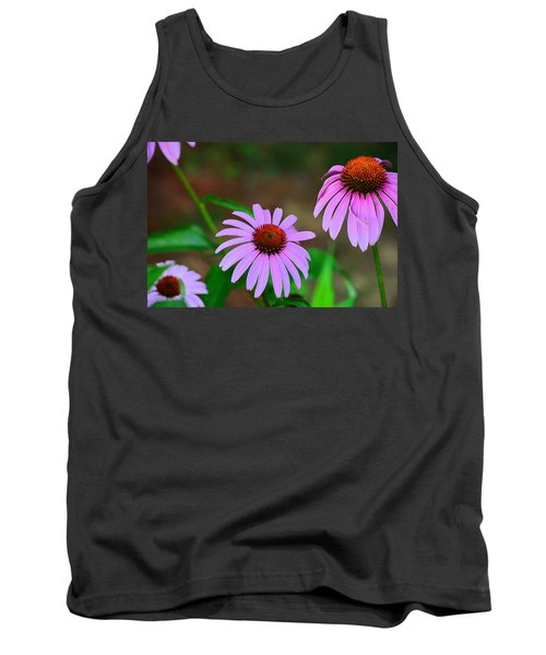 Purple Coneflower - Echinacea Tank Top