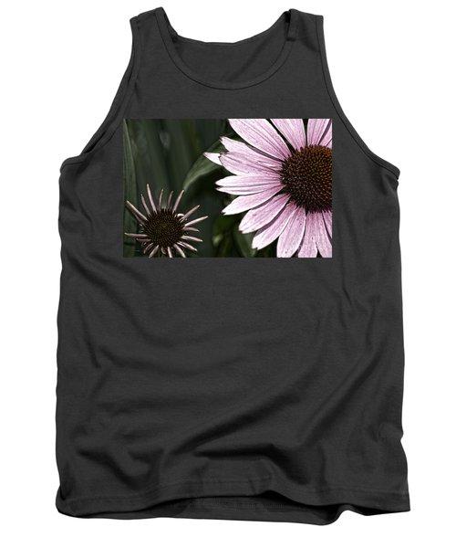 Purple Coneflower Imperfection Tank Top