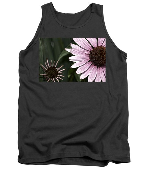 Purple Coneflower Imperfection Tank Top