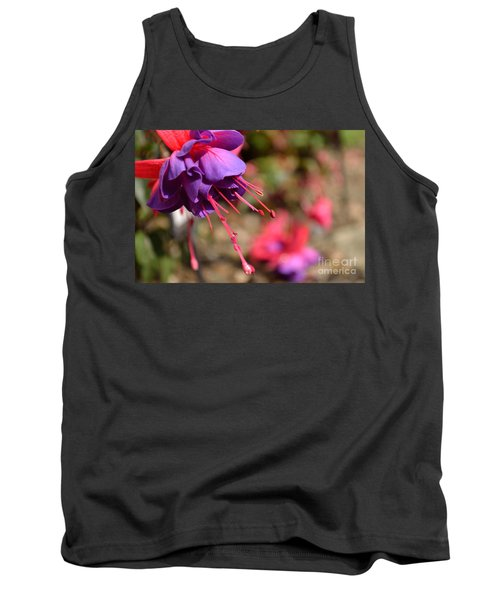Purple Fuchsia Tank Top