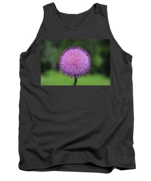 Purple Fuzz Tank Top