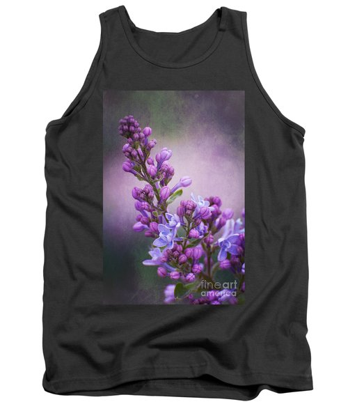 Purple Lilacs Tank Top