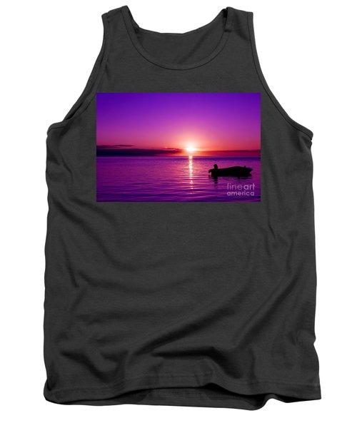 Purple Sunrise Tank Top
