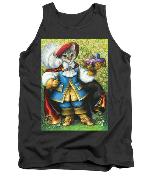 Puss-in-boots Tank Top