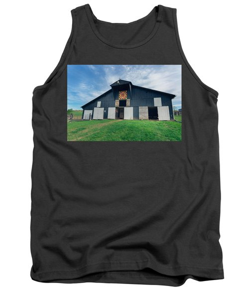 Quilted Barn Tank Top