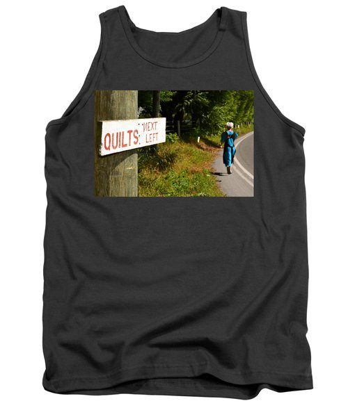 Quilts Next Left Tank Top