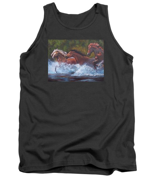Race For Freedom Tank Top