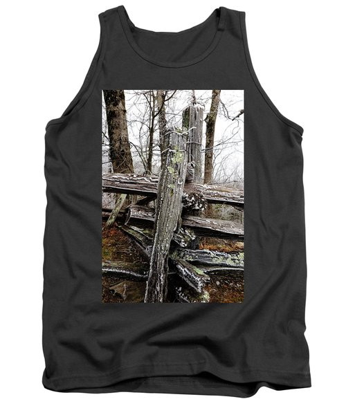 Rail Fence With Ice Tank Top