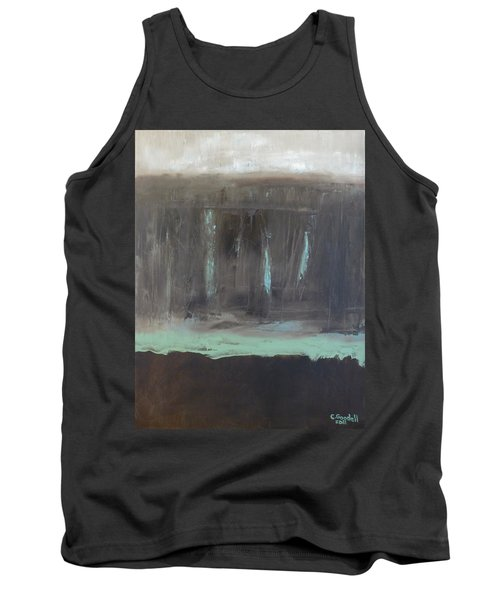 Rainy Day Tank Top by Claudia Goodell