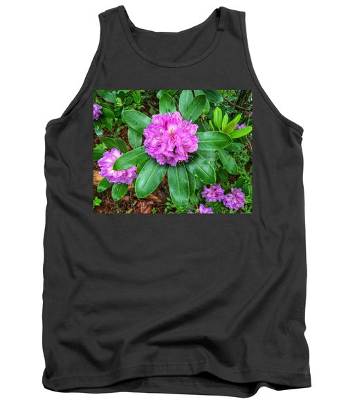 Rainy Rhodo Tank Top