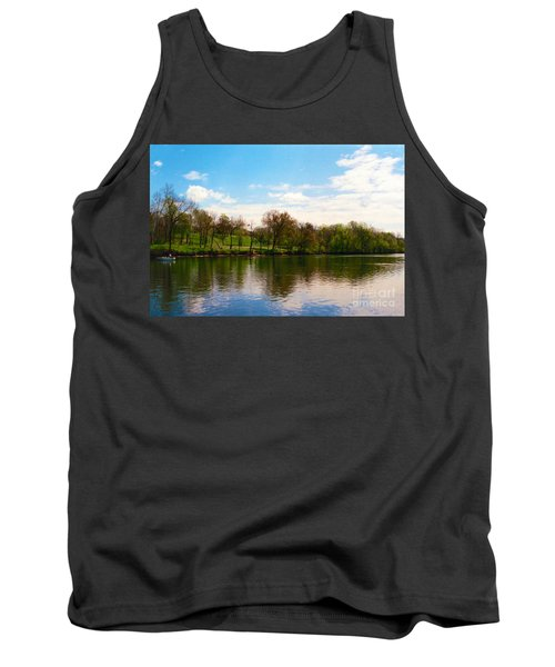 Rappahannock River I Tank Top by Anita Lewis