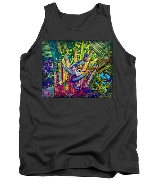 Tank Top featuring the photograph Ravenala by Hanny Heim