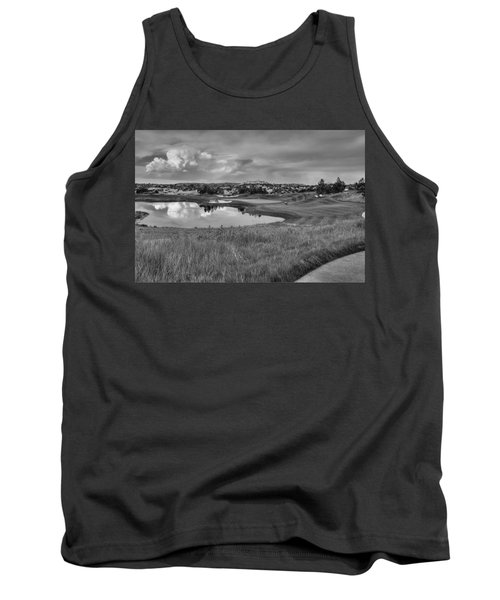 Tank Top featuring the photograph Ravenna Golf Course by Ron White