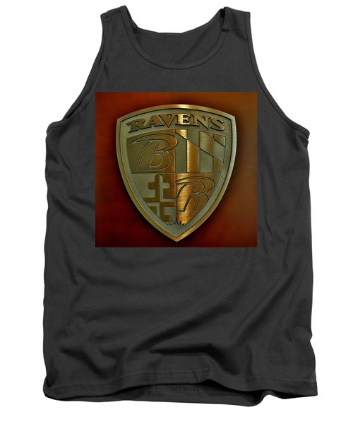Ravens Coat Of Arms Tank Top