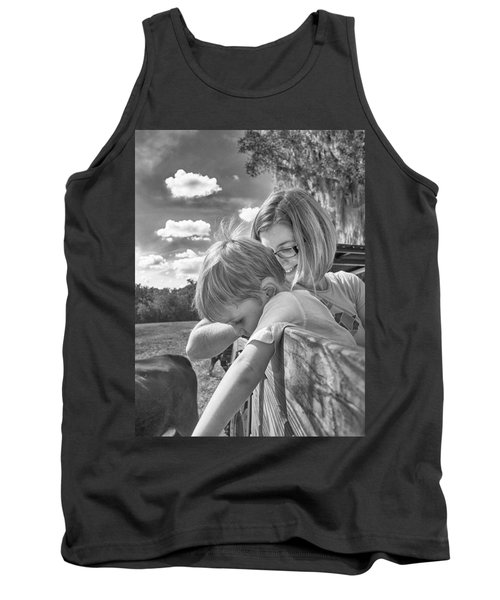 Tank Top featuring the photograph Reaching by Howard Salmon