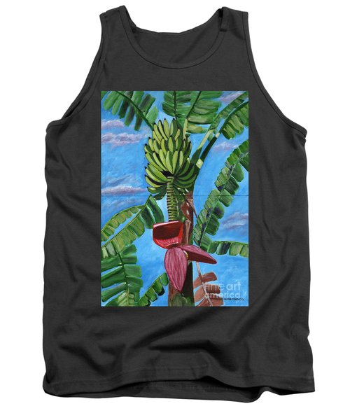 Tank Top featuring the painting Ready For Harvest by Laura Forde