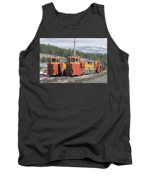 Ready For More Snow At Donner Pass Tank Top
