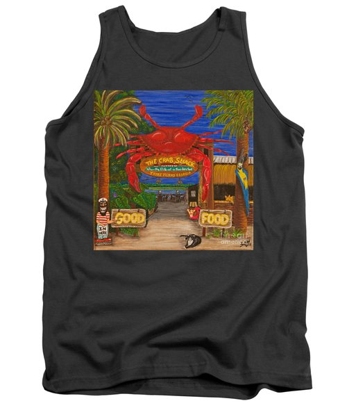 Ready For The Day At The Crab Shack Tank Top