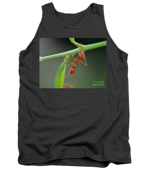 Red Ant Tank Top by Michelle Meenawong