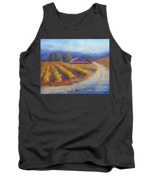 Red Barn Vineyard Tank Top