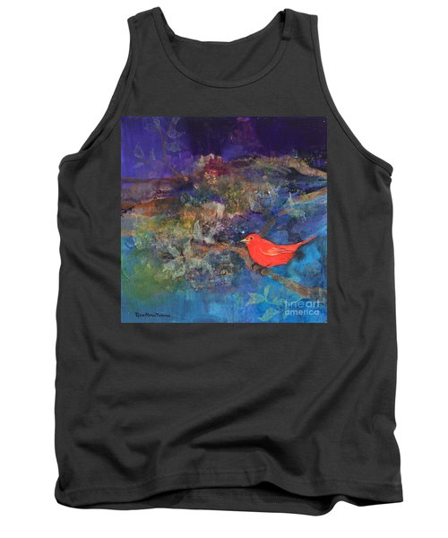 Red Bird Tank Top
