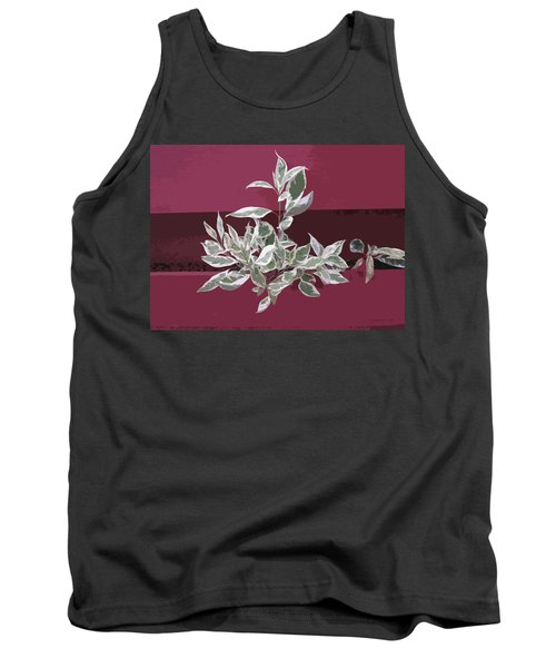 Tank Top featuring the photograph Red Fence by Donald S Hall