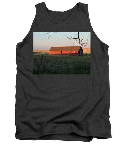 Red Granary Barn Tank Top