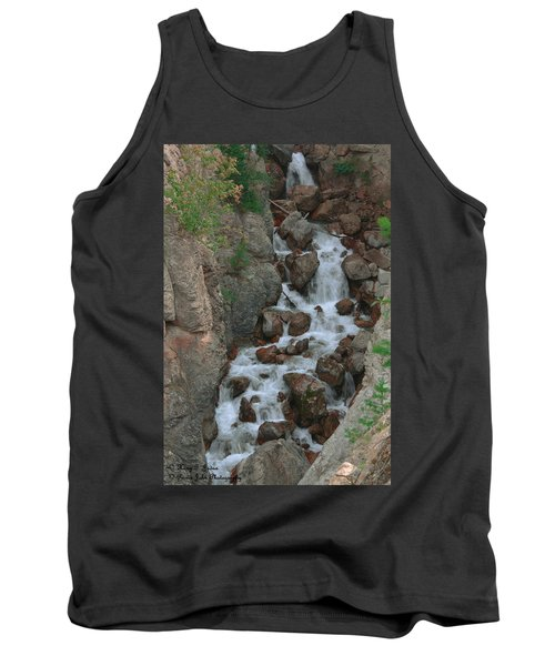 Red Rock Falls Tank Top