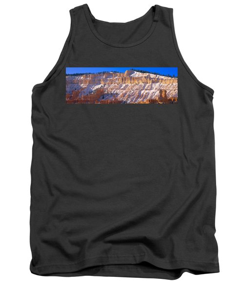 Red Rocks & Snow, Bryce Canyon National Tank Top