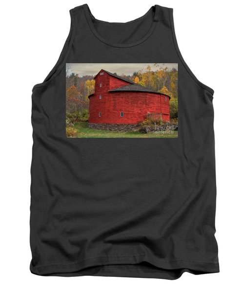 Red Round Barn Tank Top