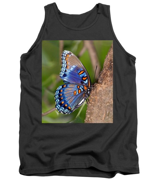 Red Spotted Purple Butterfly Tank Top