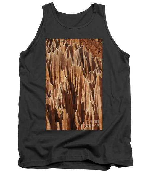 red Tsingy Madagascar 5 Tank Top by Rudi Prott