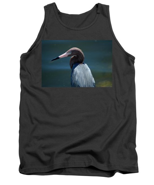 Reddish Egret 3 Tank Top