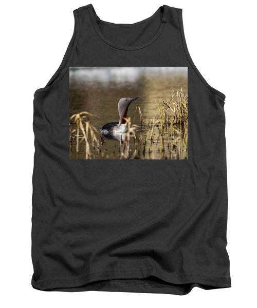 Redthroated Loon Tank Top