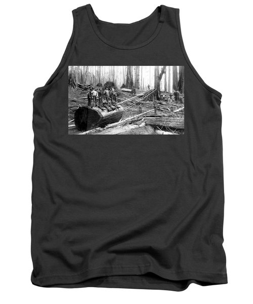 Redwood Logging Crew C. 1890 Tank Top