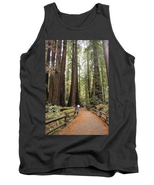 Redwood Trees Tank Top