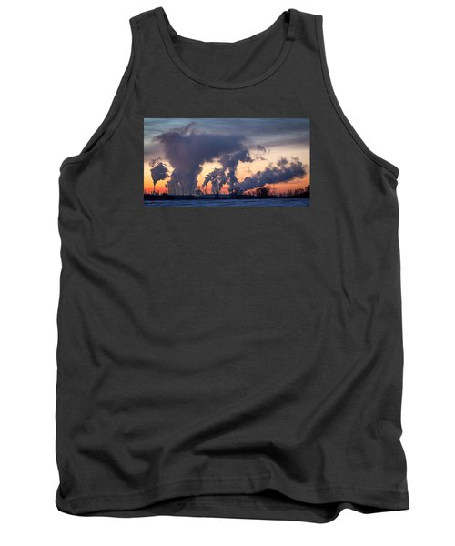 Flint Hills Resources Pine Bend Refinery Tank Top by Patti Deters