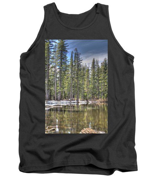 reflecting pond 4 Carson Spur Tank Top