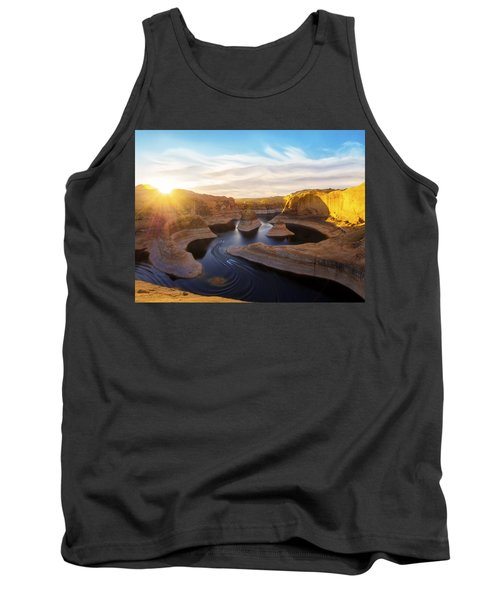 Tank Top featuring the photograph Reflection Canyon by Dustin  LeFevre