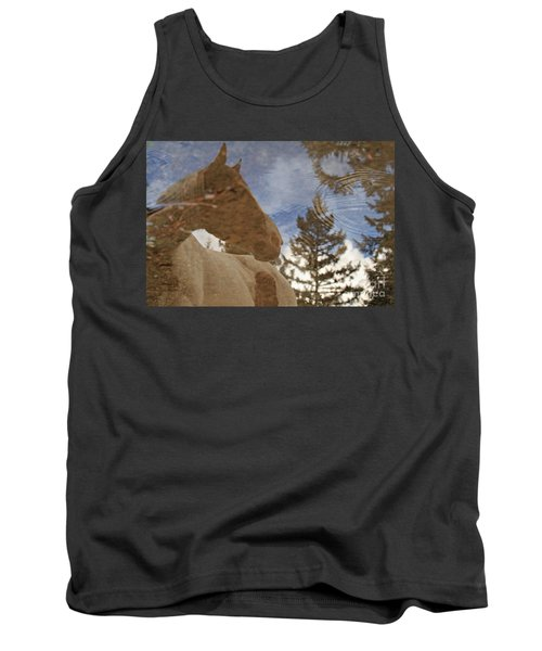 Upon Reflection Tank Top by Michelle Twohig
