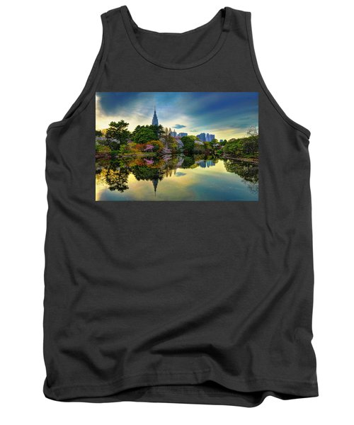 Reflection Of Spring Tank Top