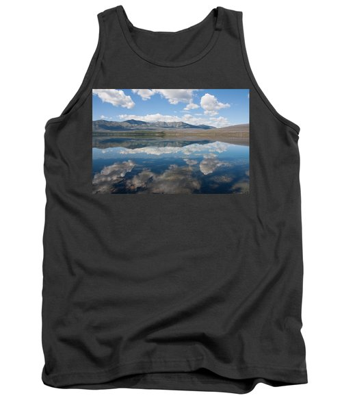 Tank Top featuring the photograph Reflections At Glacier National Park by John M Bailey