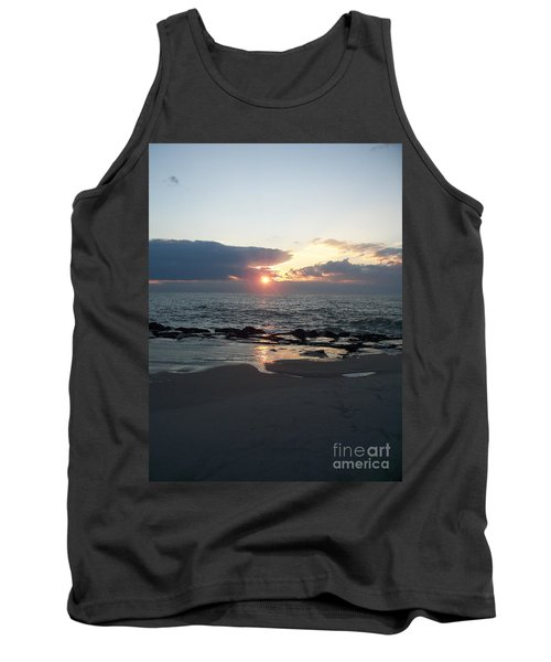 Reflections Cape May Point Tank Top by Eric  Schiabor