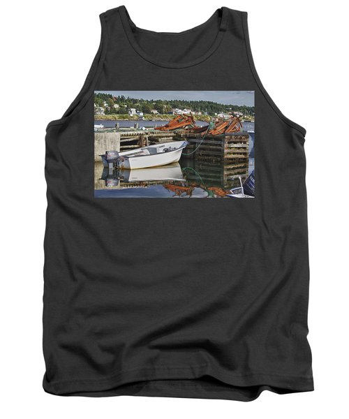 Tank Top featuring the photograph Reflections by Eunice Gibb