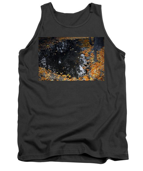 Tank Top featuring the photograph Reflections Of Autumn by Photographic Arts And Design Studio