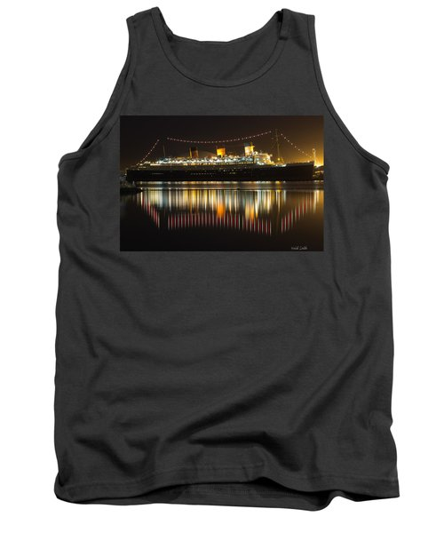 Reflections Of Queen Mary Tank Top