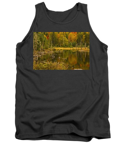 Reflections Of The Fall Tank Top