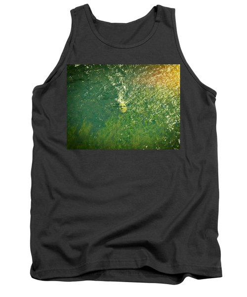 Reflections Of Time Tank Top