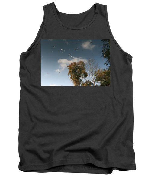 Reflective Thoughts  Tank Top by Neal Eslinger
