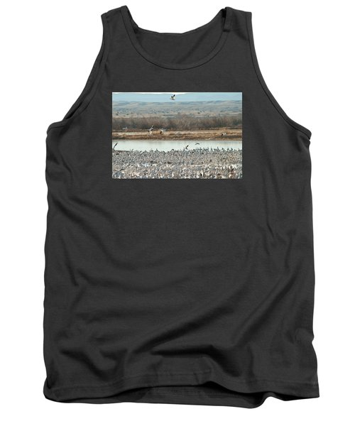 Refuge View 2 Tank Top by James Gay